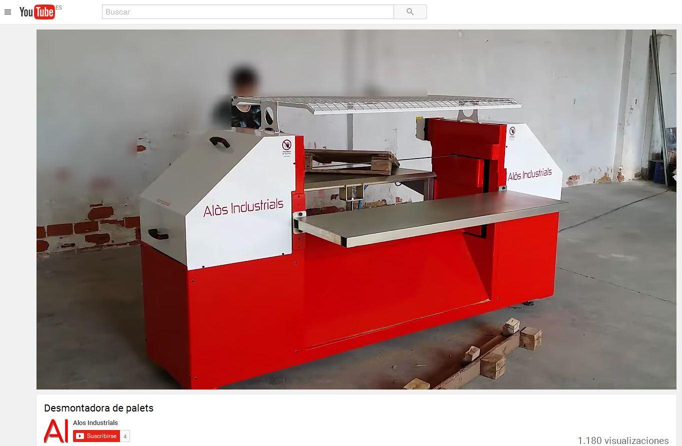 Pallet Dismantling Machine Exapro