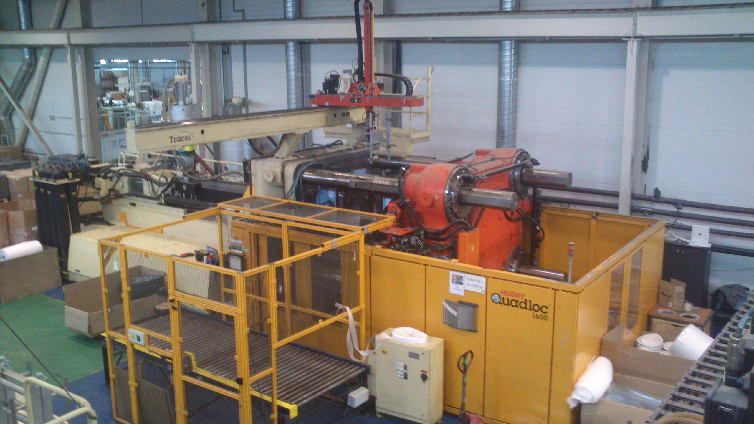 husky injection molding system