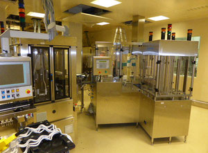 Brevetti 2 x ATM 15D Complete Inspection plant for pre-filled syringes