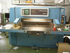 Used Wohlenberg 115 MCS-2TV Paper guillotine