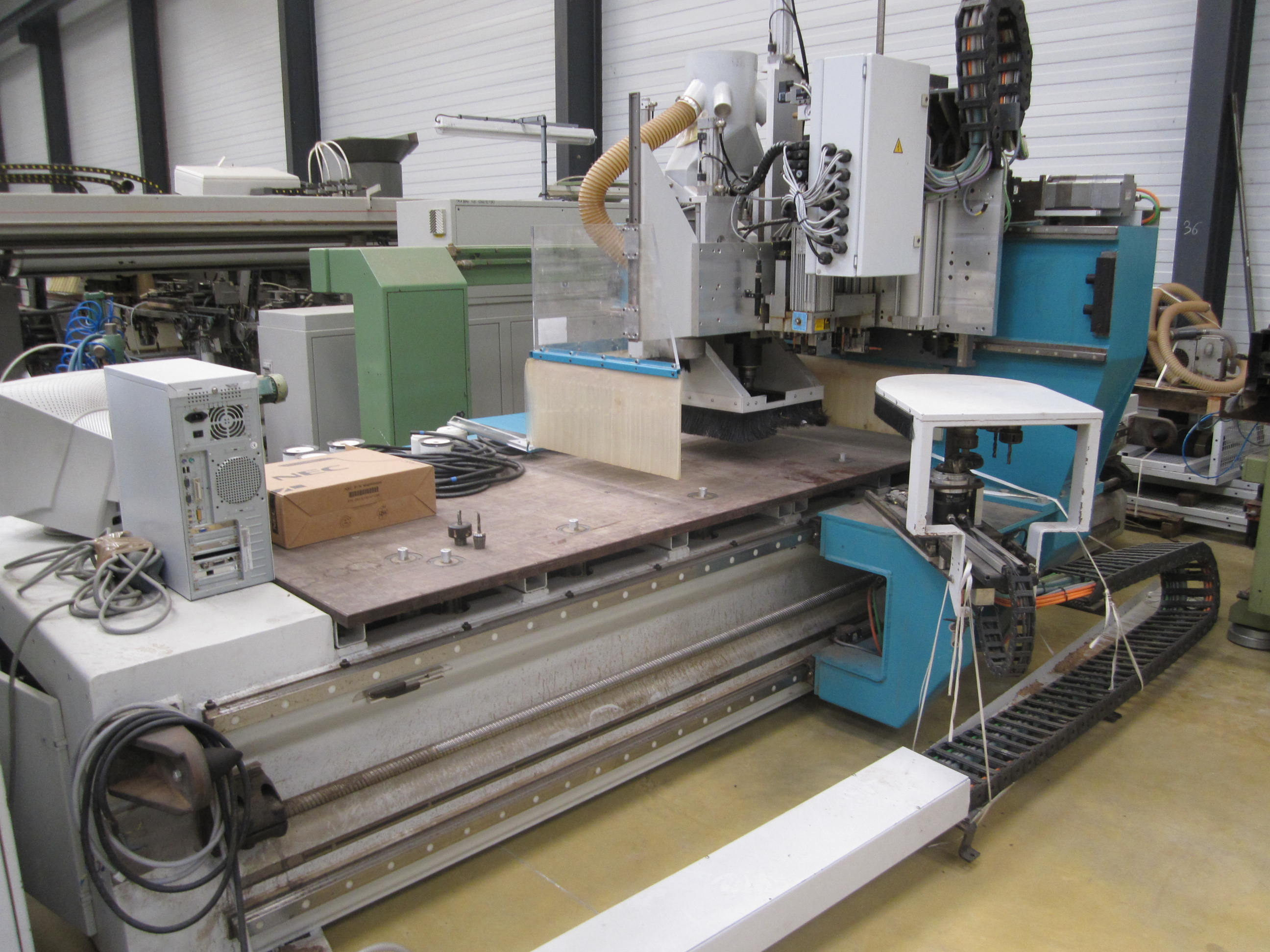 HOLZ HER Unimaster 7217 Wood CNC machining centre - Exapro