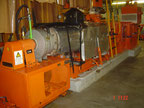 Baker Perkins 7 1/2 M-P compounding line Extrusion - Twin screw extruder