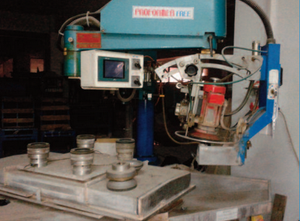 Suntech Shape glass edging/bevelling machine