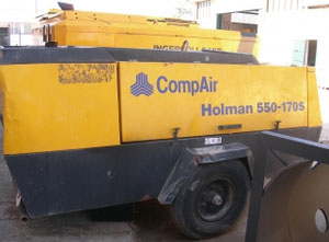 Holman 550-170 s Compressor on wheels