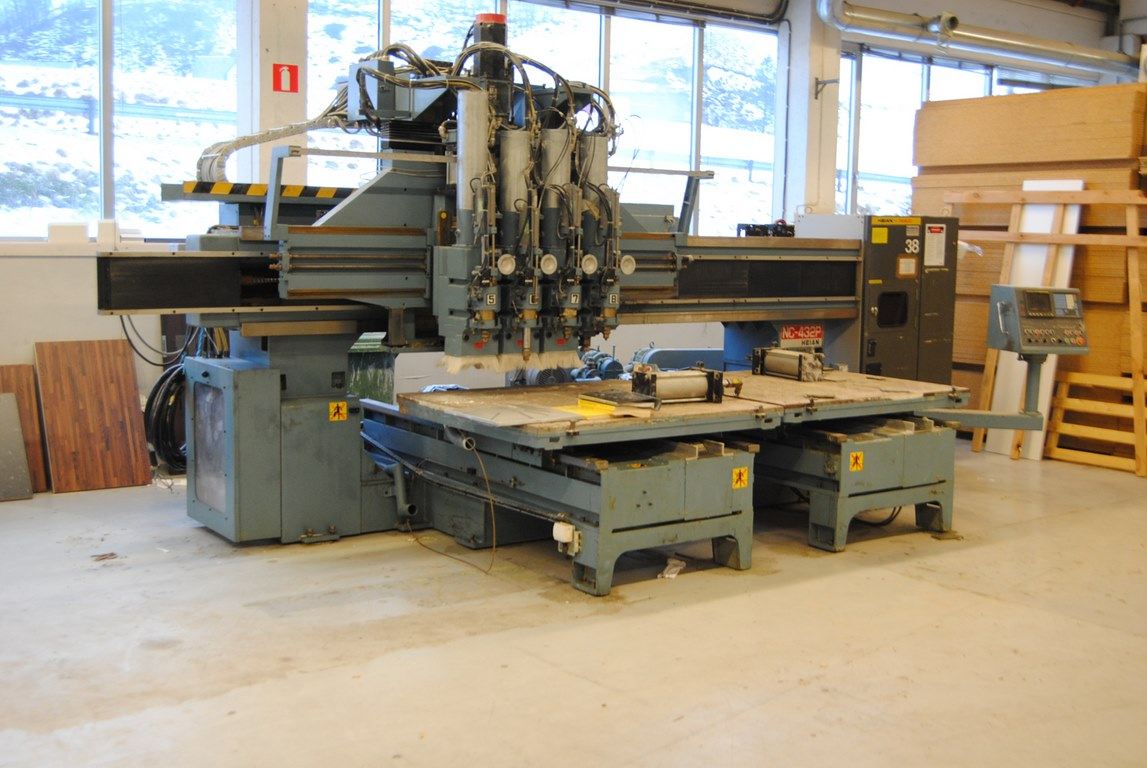 Used Heian NC 432 P Router CNC - Exapro