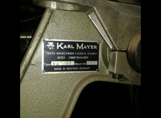 Karl Mayer DS 65/40 P50623168