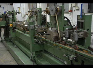 Used Hot Stamping foilng Machine for Mouldings PAO MACC 5 head headed