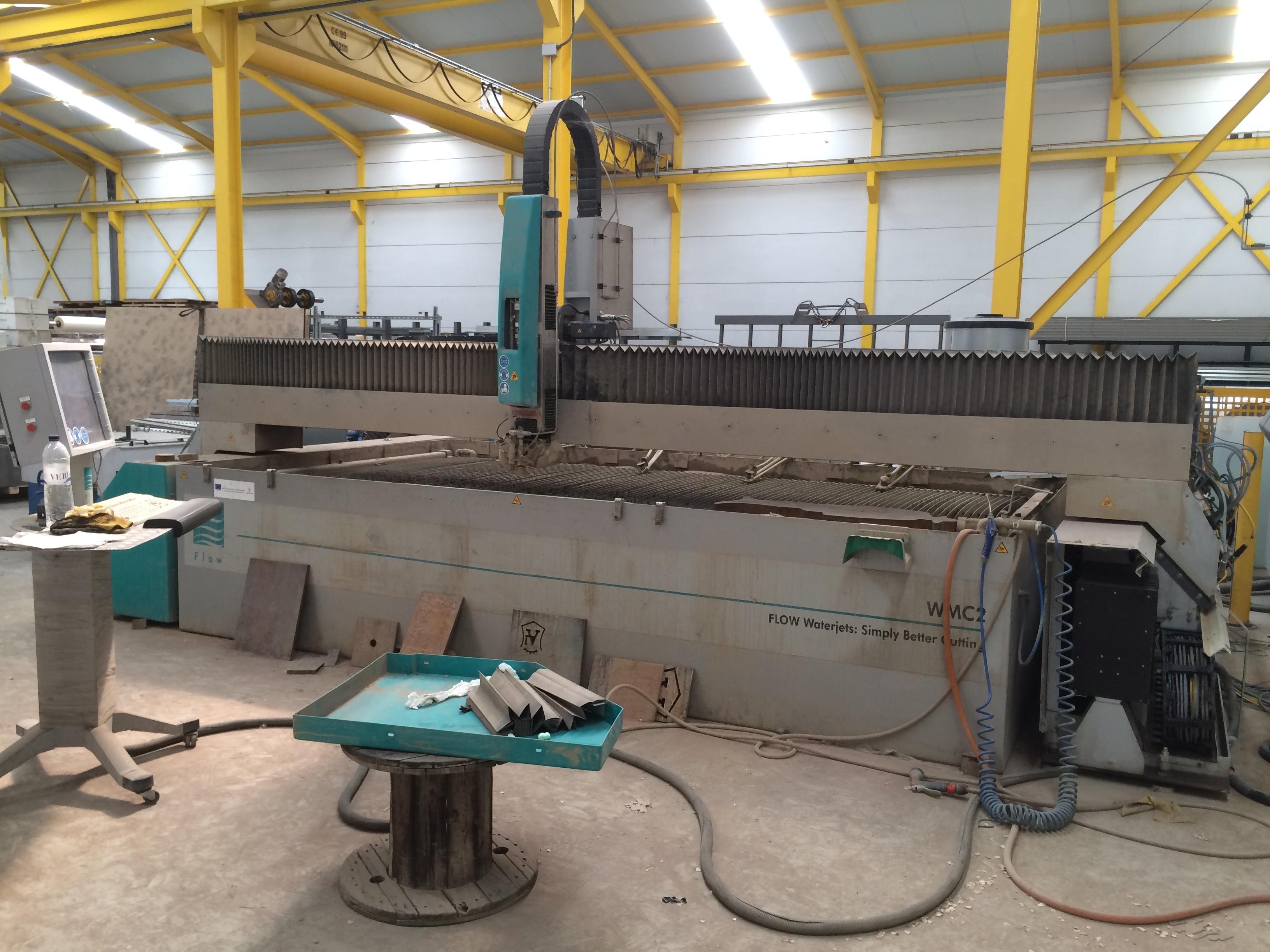 Maquina de corte con agua alta presion flow wmc2 4020 - Maquina de agua a presion ...