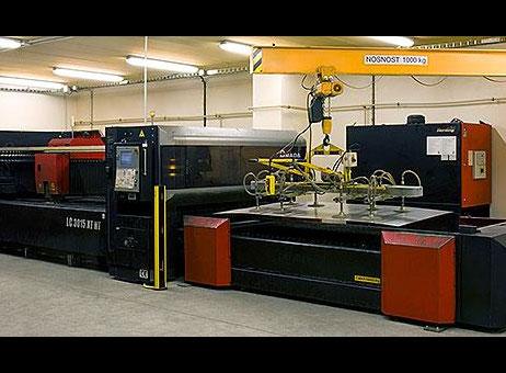 used amada laser cutting machine