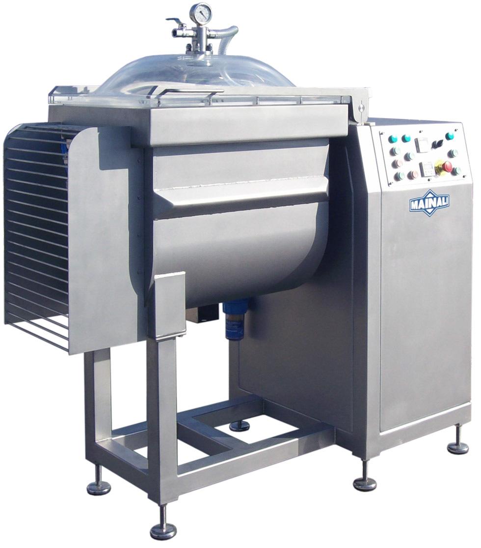 Avl 150 vacuum mixer exapro for Alpine cuisine meat grinder