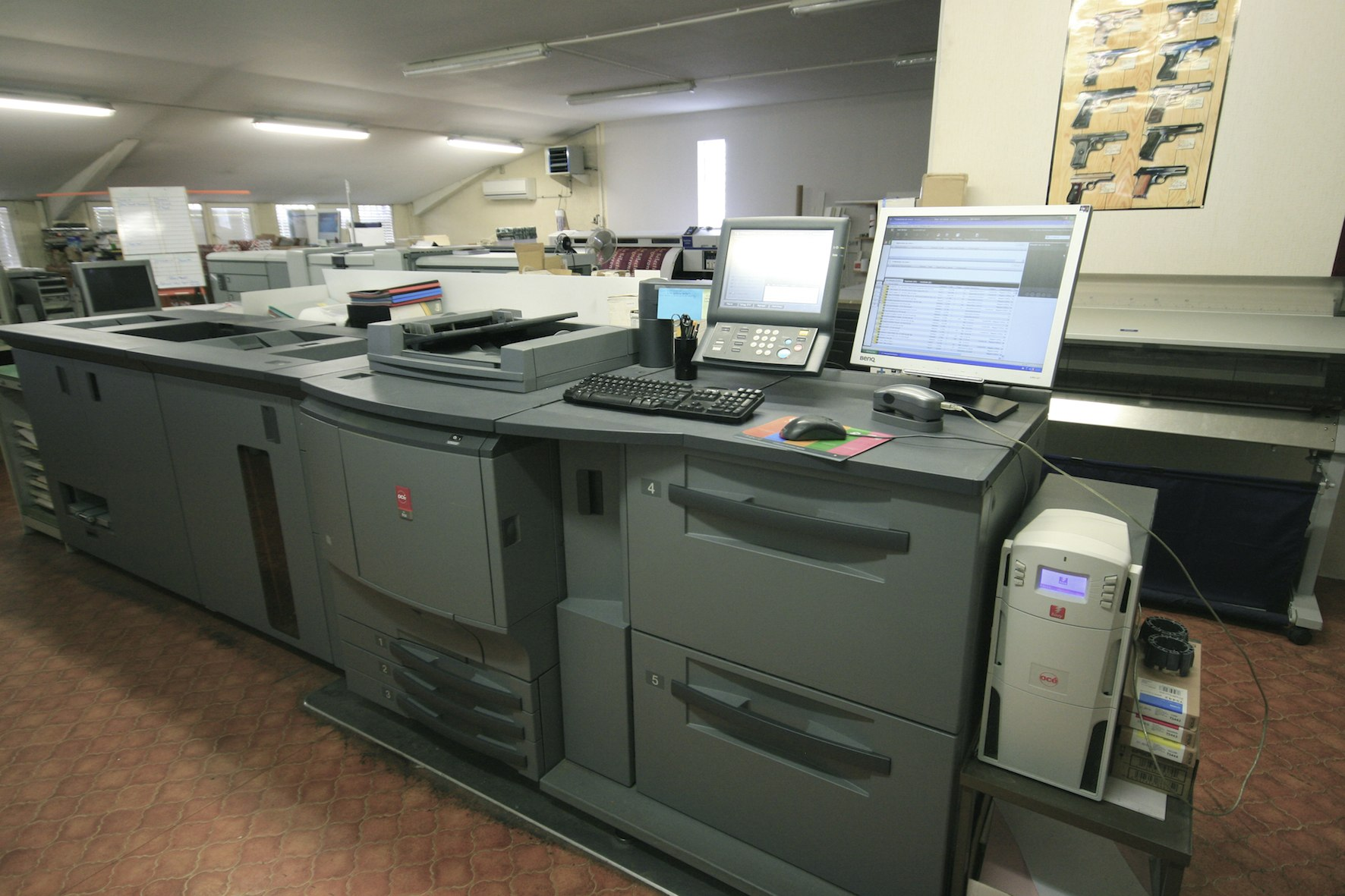 Oce - Konica CS 650 Digital press - Exapro
