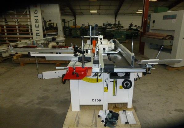 Combiné à bois LUREM C300 6 OP Machines doccasion  Exapro ~ Combine A Bois Occasion Particulier