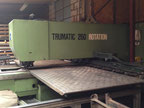 Used Trumpf 260 Punching machine / nibbling machine with CNC