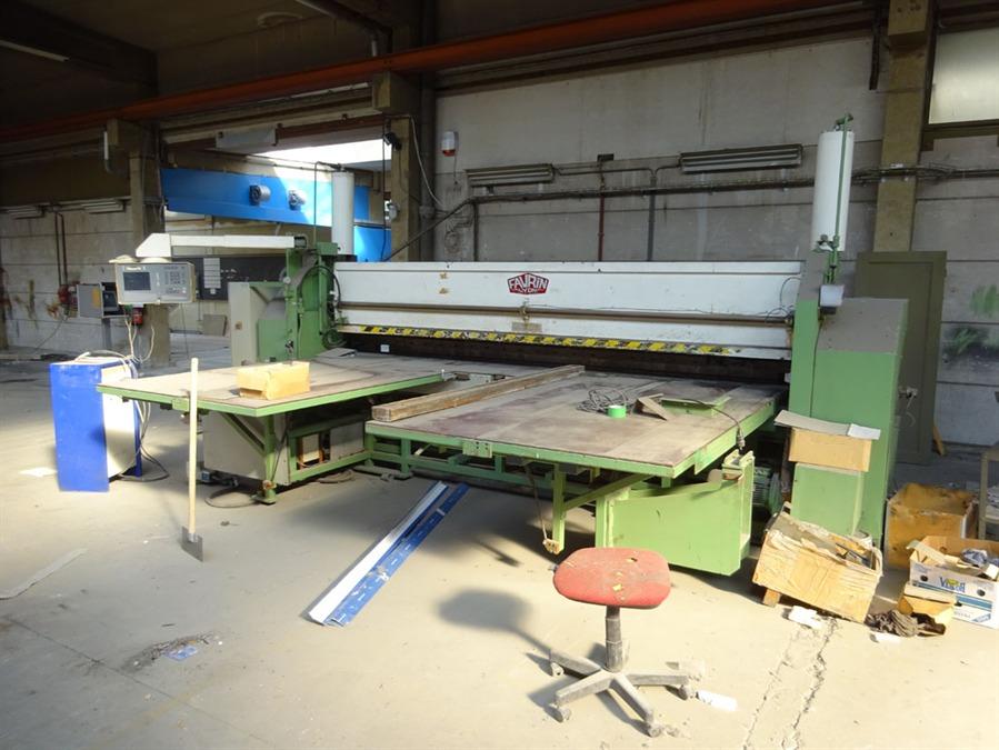 Favrin 4050 x 3 mm CNC Plate folding machine - Exapro