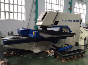 Punch(Delme) makinesi TRUMPF TC-2000 R