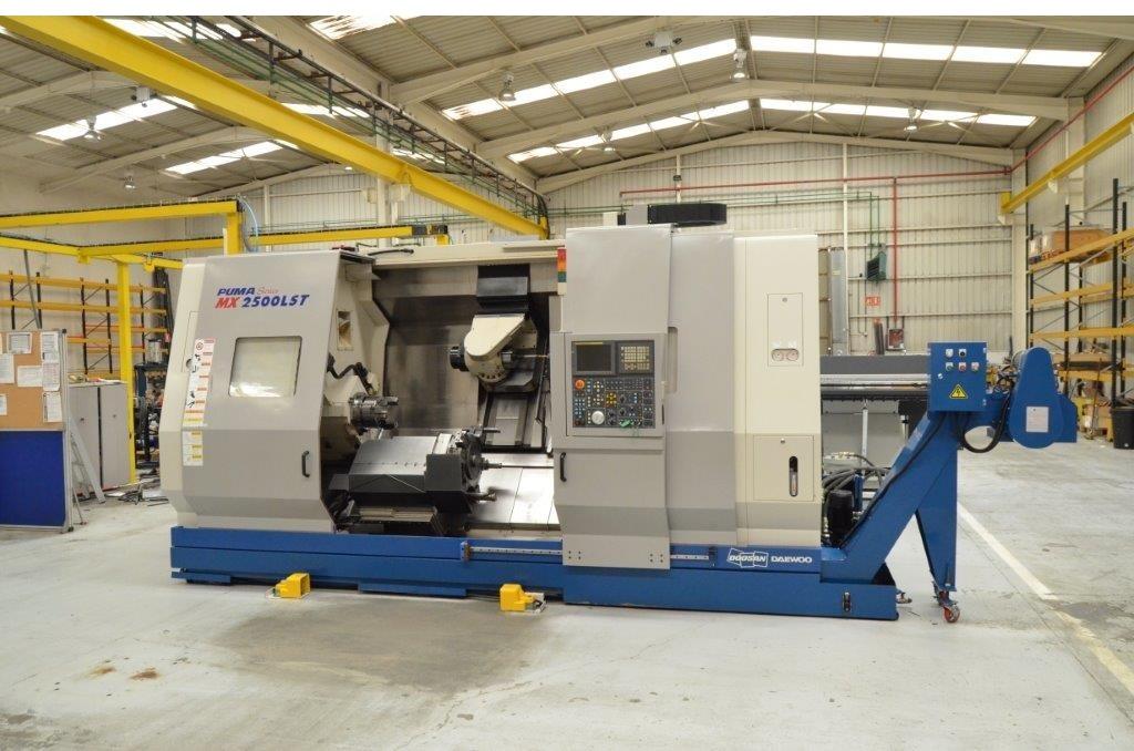 DOOSAN PUMA PUMA MX 2500 LST 9 cnc turning and milling ...