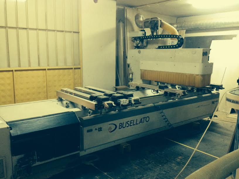 Used Busellato Jet Optima Wood CNC machining centre - Exapro