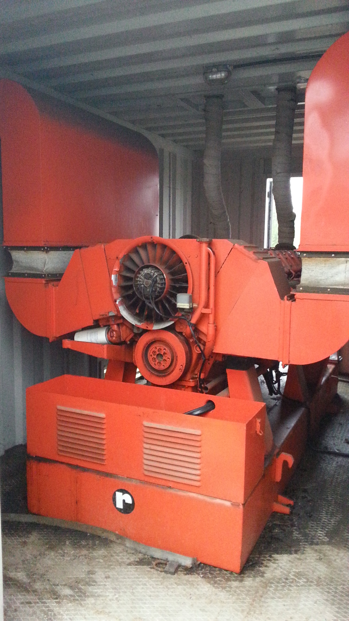 ELECTRIC GENERATOR GROUP - ROSSI 200 KW / 250 KVA - Exapro