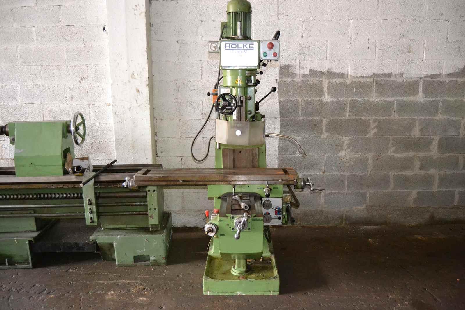 Holke F10V turret milling machine - Exapro