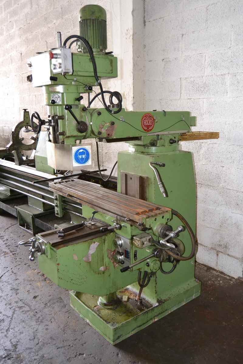 Holke F10v Turret Milling Machine Exapro