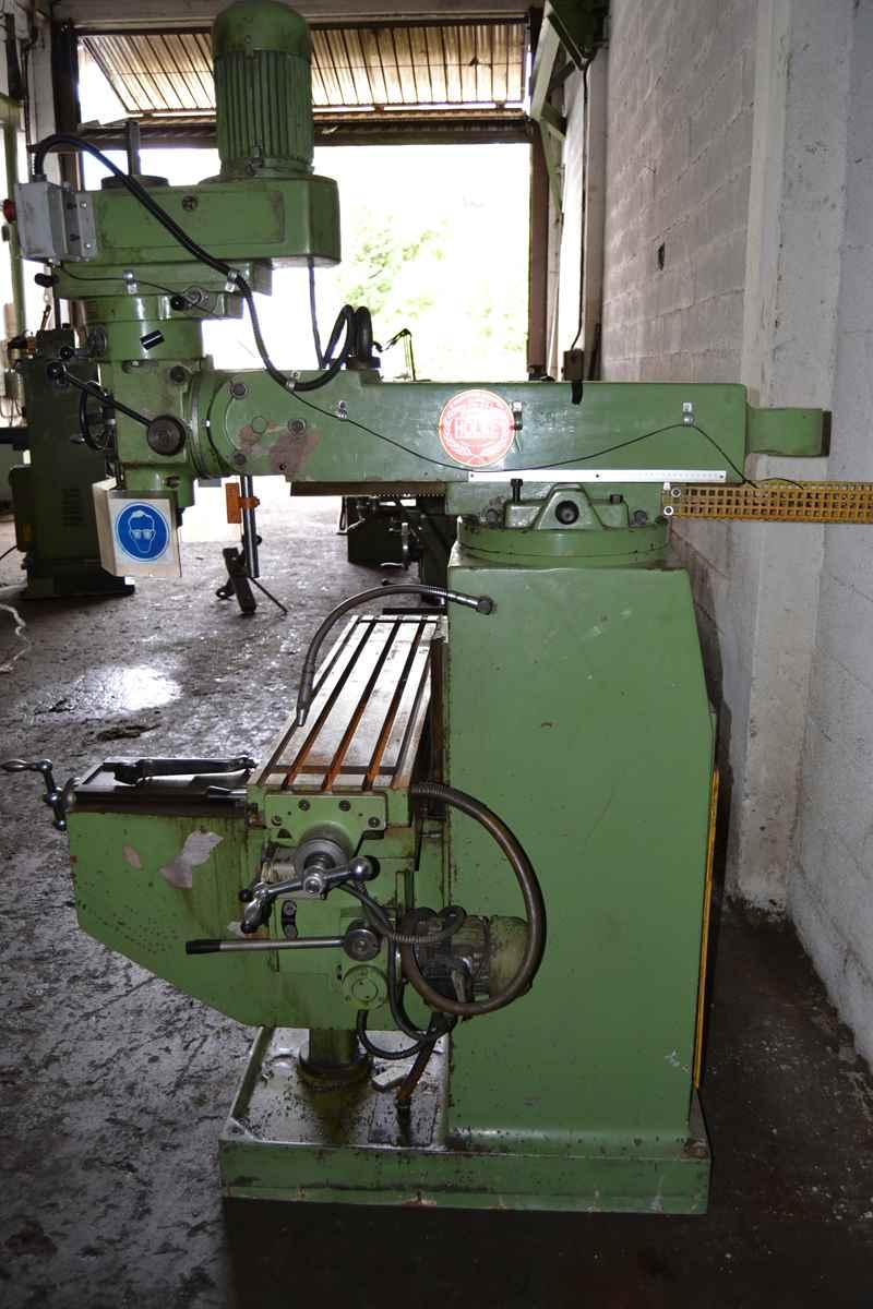 holke milling machine