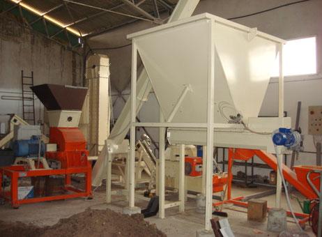 Impianto produzione pellet macchinari usati exapro for Impianto produzione pellet usato