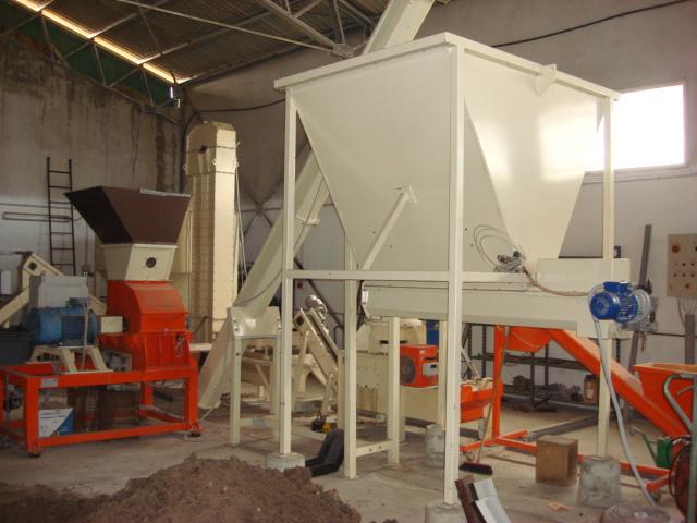 impianto produzione pellet macchinari usati exapro