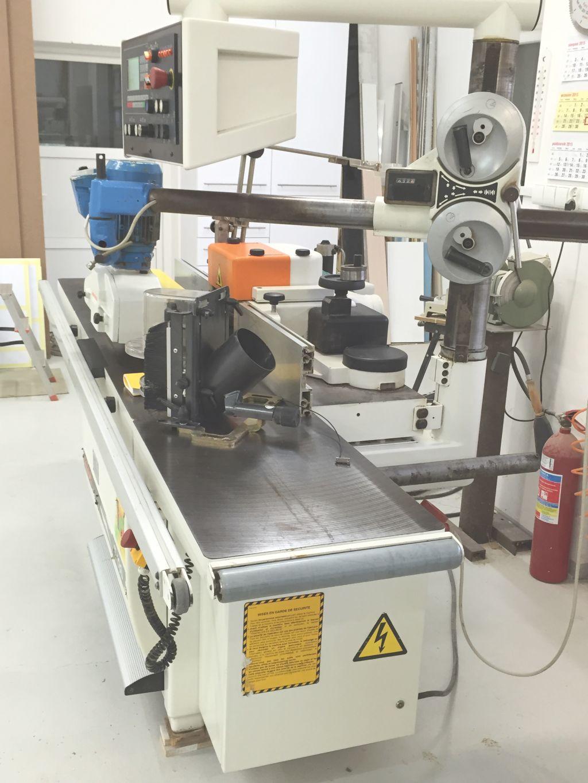 Fresadora de madera scm t130 n maquinas de segunda mano - Fresadora de madera ...