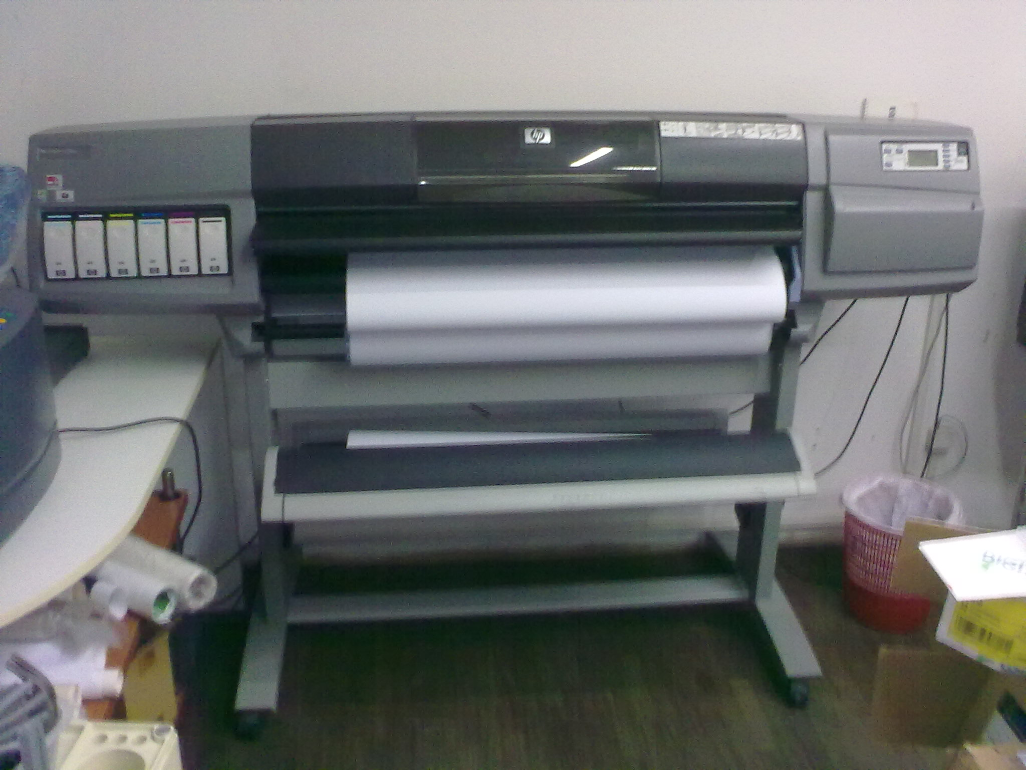 hp plotter machine