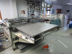 Thieme TYPE 3025R Screen printing machine