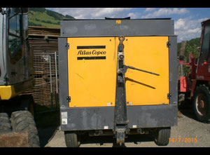 Atlas Copco xrhs 366 Compressor on wheels
