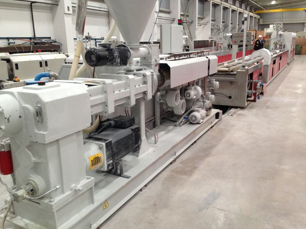 Thermoplastic Extrusion Plant for UPVC Window profiles - Exapro