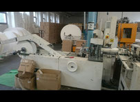 Russian 9. Septembar 200/600  machine for the production and packaging of paper handkerchiefs