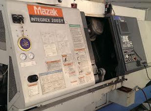 Torno cnc Mazak Integrex 200 SY