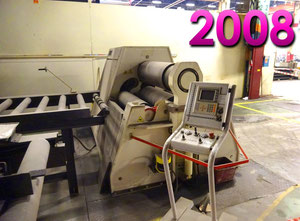 Davi 1100 x 40 mm CNC Blechrundbiegemaschine - 4 Walzen