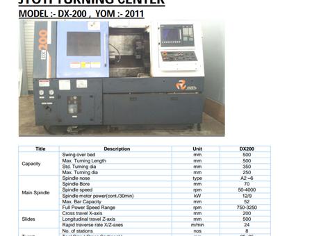 Jyoti DX200 CNC Turning - Exapro