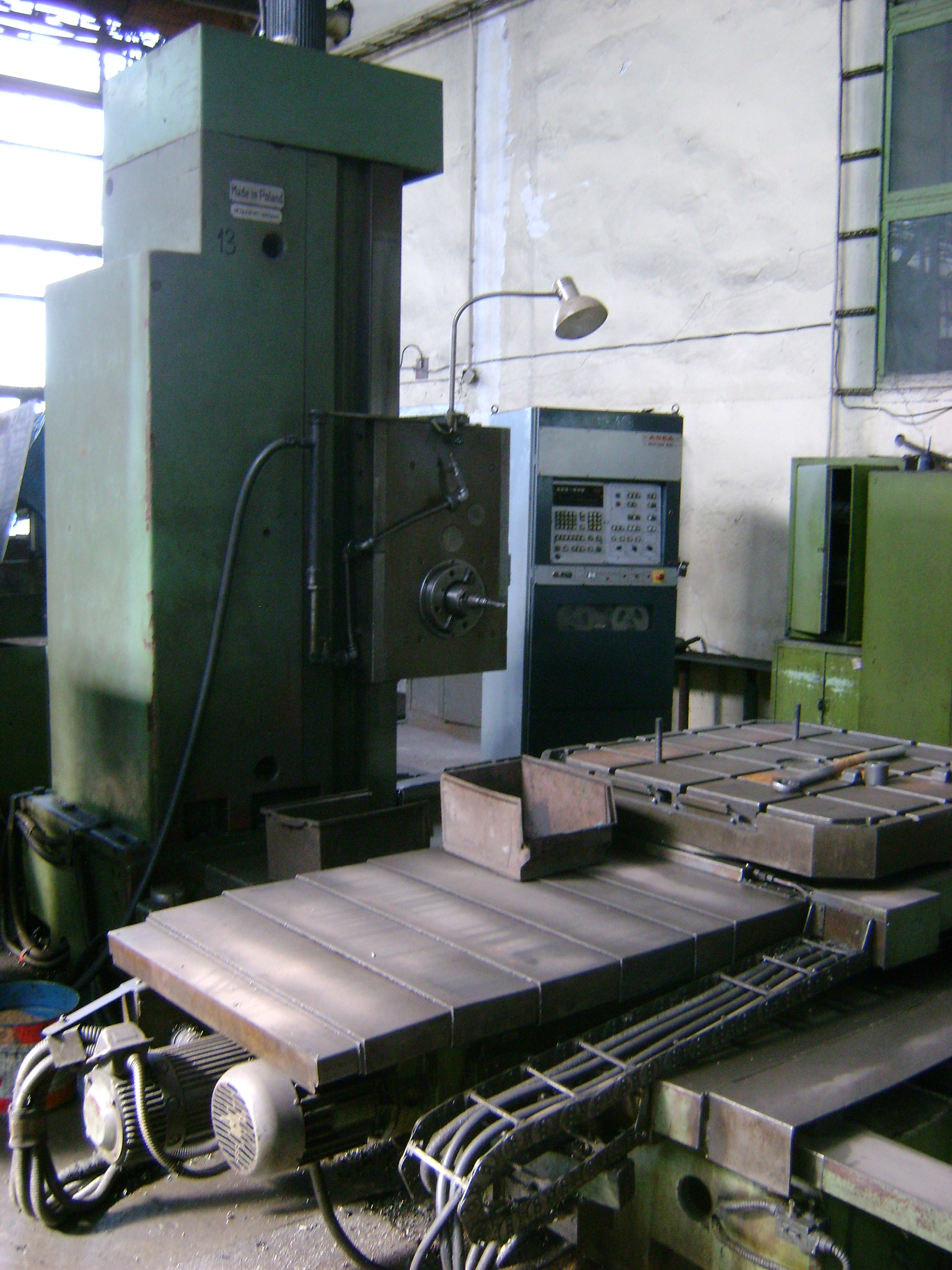 Defum wfgm 100n floor type boring machine cnc exapro for 100 floors floor 23