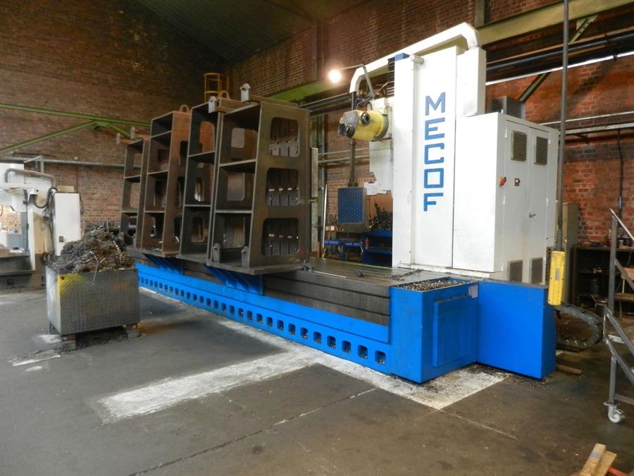 Mecof Cs 105a Cnc Universal Milling Machine Exapro
