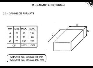 CAM HV/1.2 P51110100