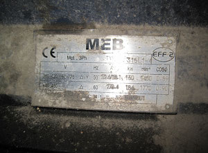 MEB 315L1-4 - Electric motor - 160 kW
