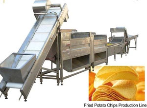Used 2000 GEN HOLD Potato Chips Production Line (automatic)
