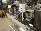 Automatic labeller for adhesive labels with conveyor belt of 1600 mm long