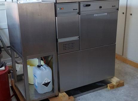 Industrielle waschmaschine miele professional ir 6001 gebrauchte