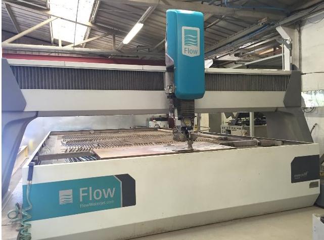 Flow Mach 4 Waterjet Cutting Machine Exapro