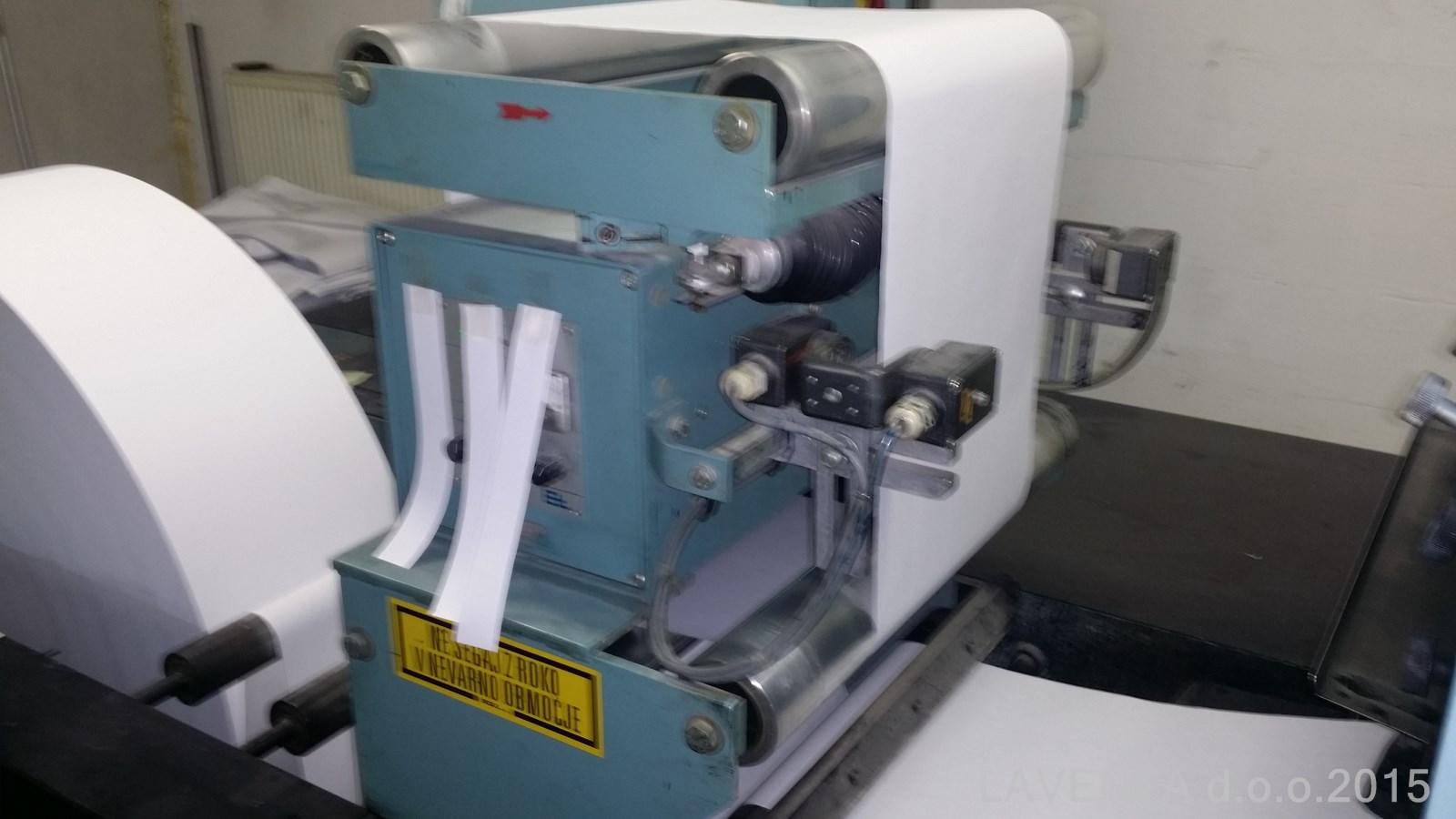 "EDELMANN Form print 17"" Web continuous printing press - Exapro"