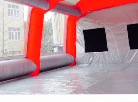 cabine peinture mobile gonflable machines d 39 occasion exapro. Black Bedroom Furniture Sets. Home Design Ideas