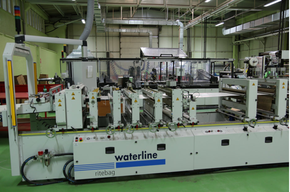 waterline pouch machine