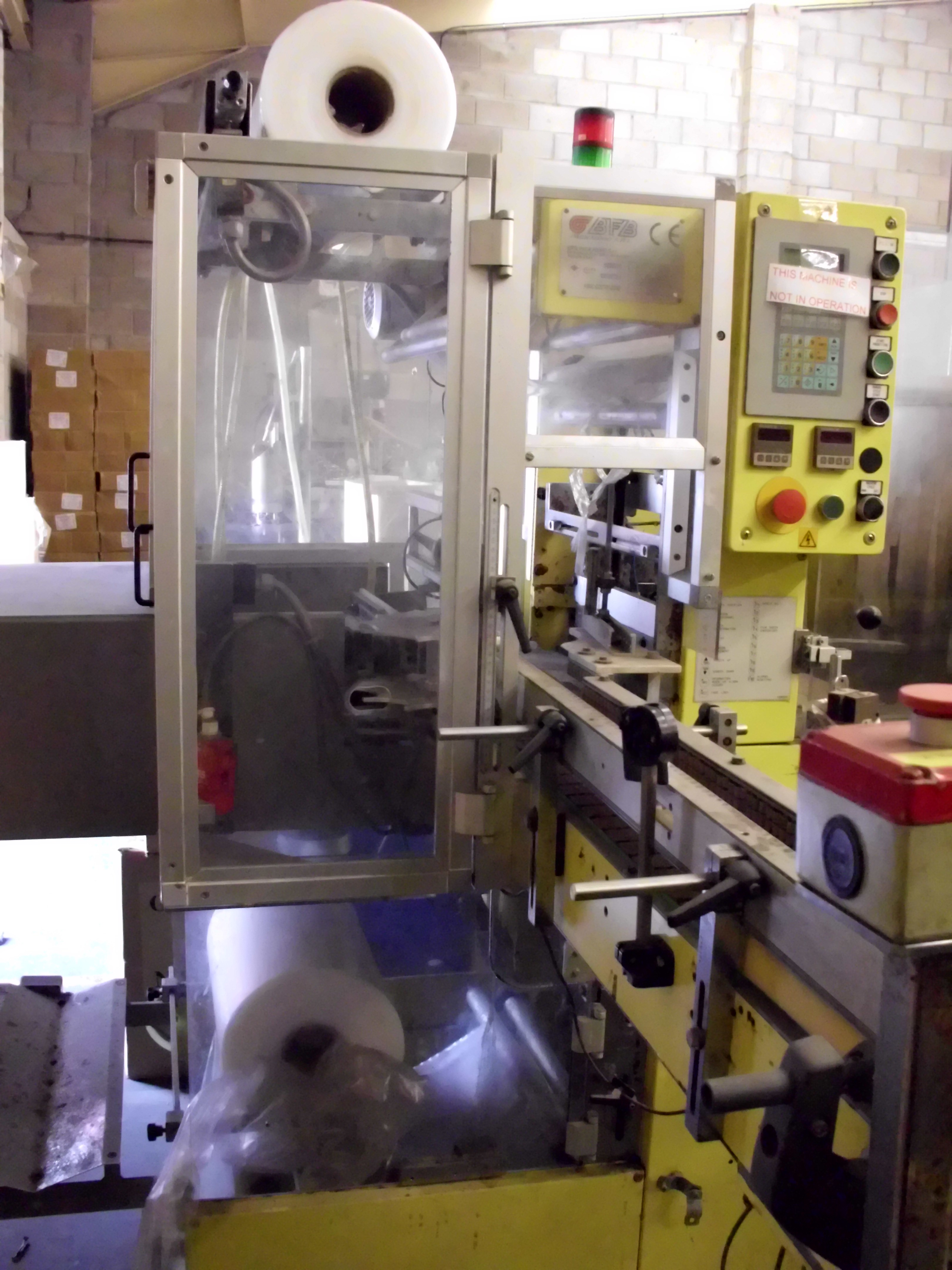 IMA BFB MS500FAR Overwrapping machine/ cellophane machine - Exapro