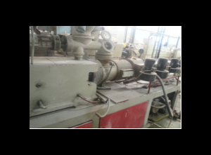 Jwell SJZ 80 Pipe extrusion line