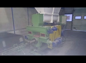 Wood Straw Sunflower husk briquette machine
